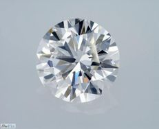 GIA Certificate: 3.02 carat E IF ( Flawless) Round Brilliant Natural Diamond