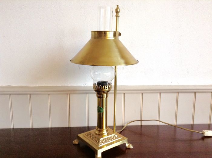 paris orient express istanbul table lamp catawiki. Black Bedroom Furniture Sets. Home Design Ideas