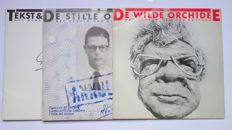 Drs P - Lot of 2 albums De Wilde Orchidee / De Stille Odyssee & 1 book