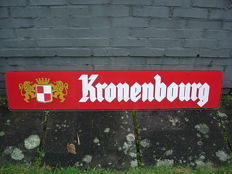 Plexi advertising sign for Beer - Kronenbourg 1962.