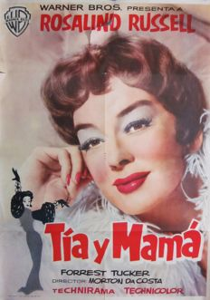 Tia y mamá (Auntie Mame; Rosalind Russell) - 1959
