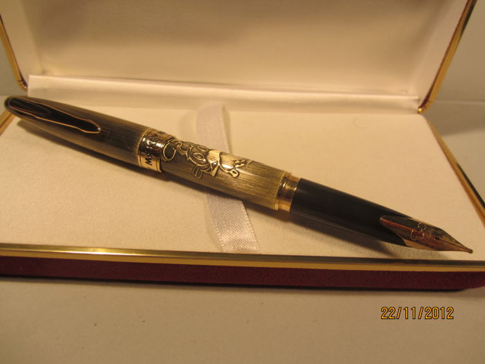 "Rare Walt Disney ""Mickey Mouse"" finely worked fountain pen - in great condition"
