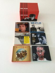 Bob Dylan The complete album selection vol. 1 + Bob Dylan vol. 5; 6; 7; 8; 10 and Christmas; limited edition cd's