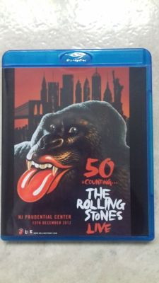 The Rolling Stones -  2x BLU RAY  +  1x DVD