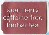 Acai berry caffeine free herbal tea