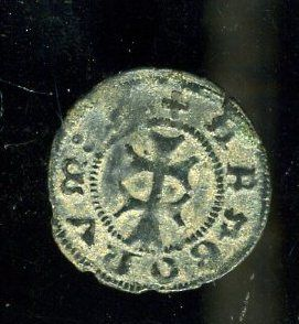 Spain - Kingdom of Aragon - Alfonso V (1416-1458) - Vellon coin
