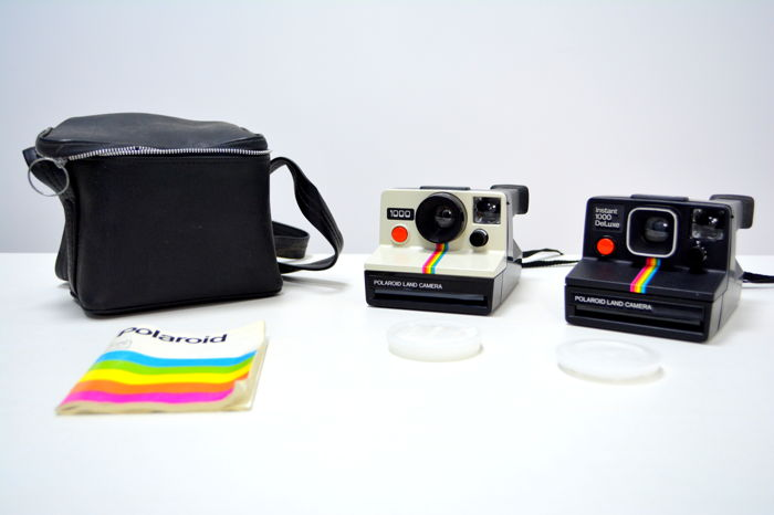 beautiful batch of polaroid cameras instant 1000 deluxe and land rh auction catawiki com polaroid land camera 1000 user manual polaroid land camera 1000 manuale
