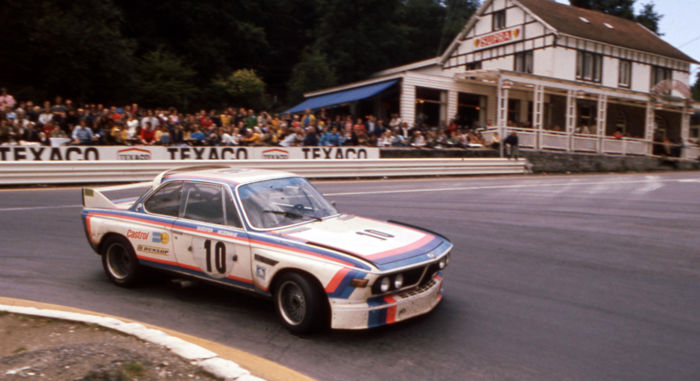 1973 Spa Circuit 24 hour   BMW 3 litre CSL  Colour Photograph