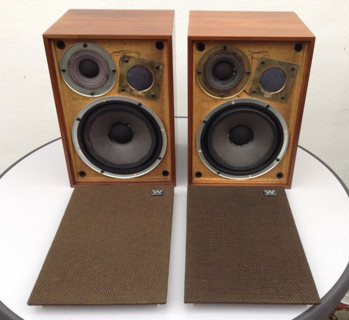 Wharfedale Denton 3, 3-weg-speakersset