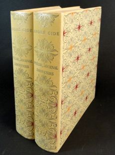 André Gide - Poésie, Journal, Souvenirs. Illustrated edition - 2 volumes - 1952