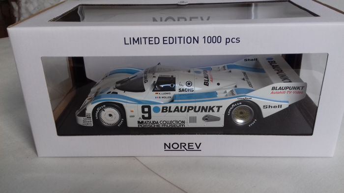 Norev - Scale 1/18 - Porsche 962 C  1987 #9 1000 km Nürburgring - Ludwig / Wollek - Limited Edition of 1000 pieces