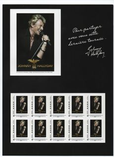 "France 2009 - Collector 29 ""Tour 66"" by JOHNNY HALLIDAY shipped via post"
