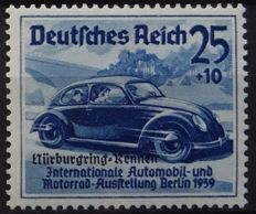 German Empire 1939 - Nurbürgring and Danzig Farewell - Michel 686/88, 695/97 and 716/29