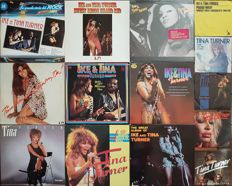 Big Lot Ike & Tina Turner: 15 original vinyl records: 9 albums (10 LPs) and 5 singles.