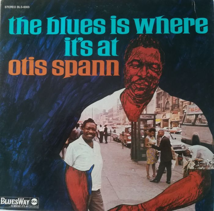 Otis Spann & Roosevelt Sykes (Piano Blues) - 5 LP's Near Mint & Mint (1 Double)