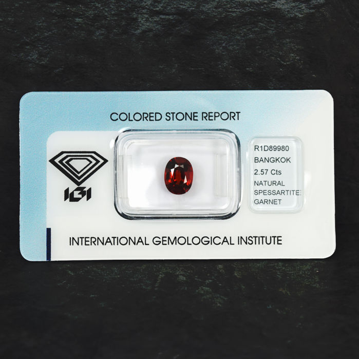 Spessartite garnet - 2.57 ct