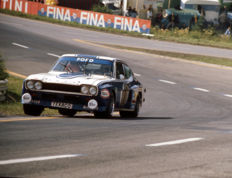 1973 Spa Circuit 24 hour  Ford capri RS 2600 Jochen Mass / Fitzpatrick  Colour Photograph