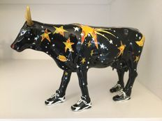 Cow Parade CowParade - Moo Beam - Large - Resin - retired and rare!