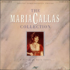 Maria Callas very rare selection of 11 original lps, mint, cellophane-packed.