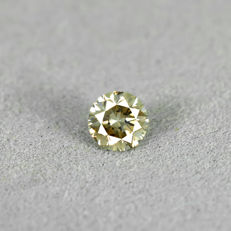Natural fancy brown diamond - 0.41 ct