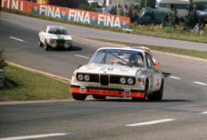 1973 Spa Circuit 24 hour   BMW 3 litre CSL and Alfa Romeo  Colour Photograph