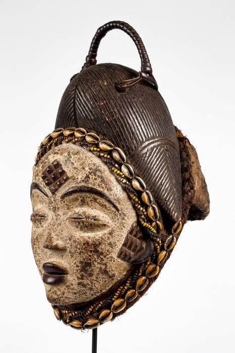 Punu Female mask - Gabon