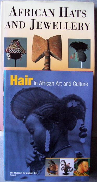 Lot with 4 Books on African Art and Culture