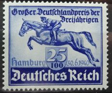 German Empire 1935/1940 - Selection between Michel 586 and 761