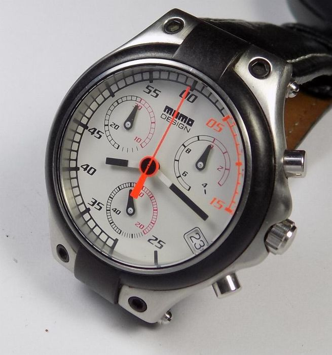 afc525d33e7 Momo Design MD-014 - Speed Chrono - White Dial - 2000 - Men s Chronograph