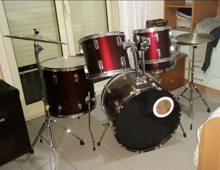 Acoustic Pulse Drum Set - Country of Origin: China - Catawiki