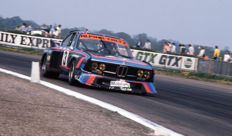 1976 silverstone 6 hour  BMW 3.5 litre CSL  Colour Photograph