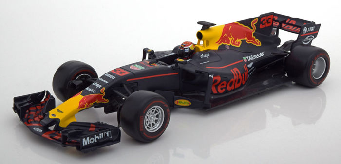 Burago Limited Edition - 1:18 - Renault F1  RB13 Red Bull Racing #33 2017 - Driver: Max Verstappen