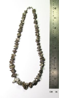 Meteorite Campo del Cielo necklace - 79.50  gm
