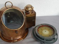 Sestrel - Old compass in copper compass house