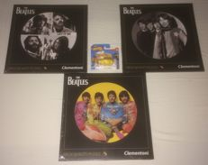"""Hot Wheels: Yellow Submarine  and 3 puzzles from The Beatles - 12"""" Vinyl size - 112pcs"""