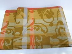 1970s Rectangular Tableware x 12, jacquard Flanders Fabric, 100% Cotton