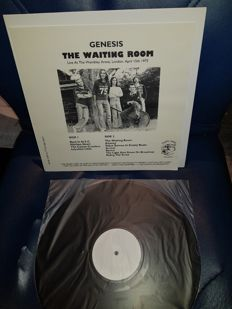 """2 lp Albums by E.L.P. - """"Iive in Brussels 1971""""  and Genesis - """"The Waiting Room Live in London 1975"""""""
