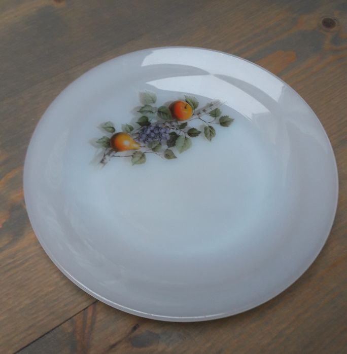 Arcopal  fruits de France  Glass dinnerware & Arcopal