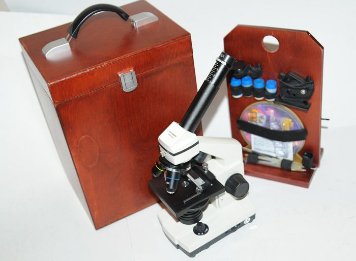 Microscope bresser biolux al usb camera with cd drive