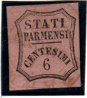 Parma, 1857-1859 - Selection of stamps from the period, various issues