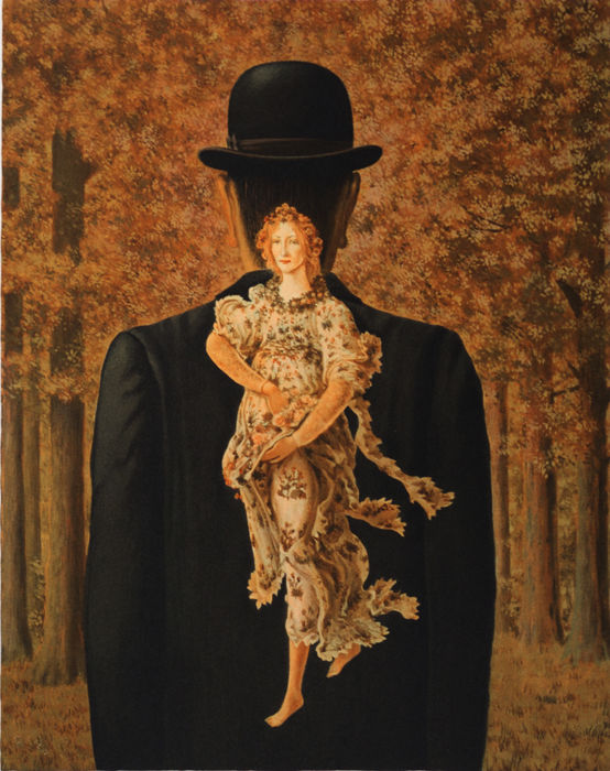 René Magritte (after) - Le Bouquet tout fait (The Ready-Made Bouquet)