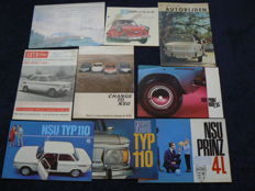 Brochures NSU: Ro80 Prinz 110 - late 1960s early 1970s