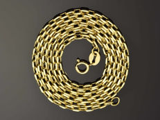 18k Gold Necklace. Chain - 50 cm. Weight 3.02 g.