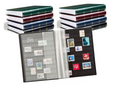 Accessories - 8 Leuchtturm stock books with 32 black pages