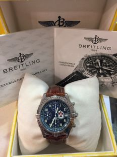 Breitling - Chronomate Longitude Thunderbird Limited Edition   - A20048 - Men - 2000-2010