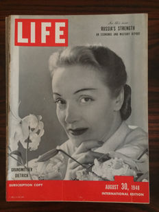 Magazines; LIFE (International Edition) - 14 loose issues - 1947 / 1949