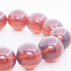 Baltic Amber Bracelet, size 16 mm