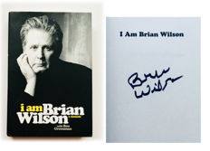 "Brian Wilson "" Beach Boys"" -  Authentic & Original Signed Book ""I am Brian Wilson"" - Limited Edition"