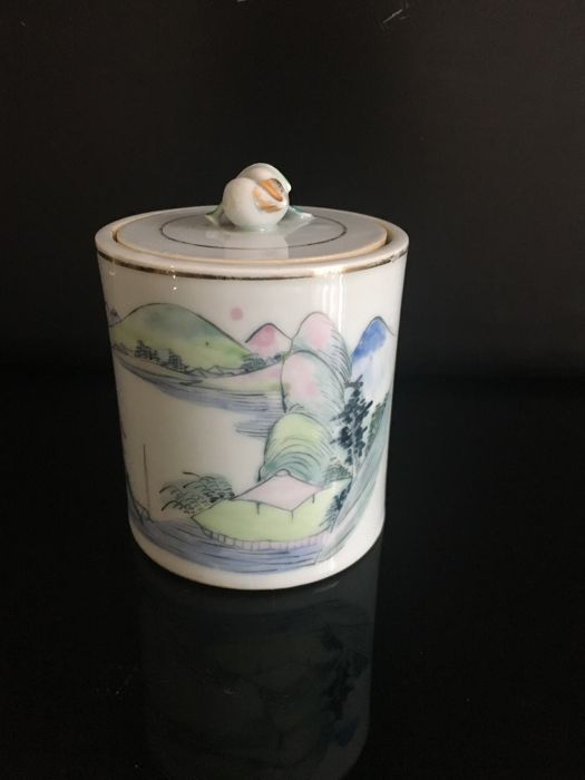 Lidded pot - China - mid-20th century
