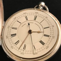 Doctor's watch - open face - fusee - 1884